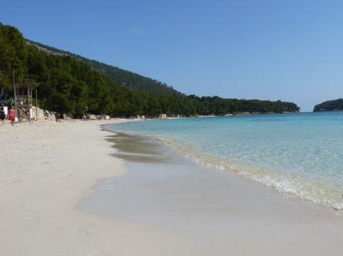 Playa Mallorca Platja de Formentor Con ñ de españa