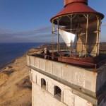 Im und auf dem Leuchtturm Rubjerg Knude