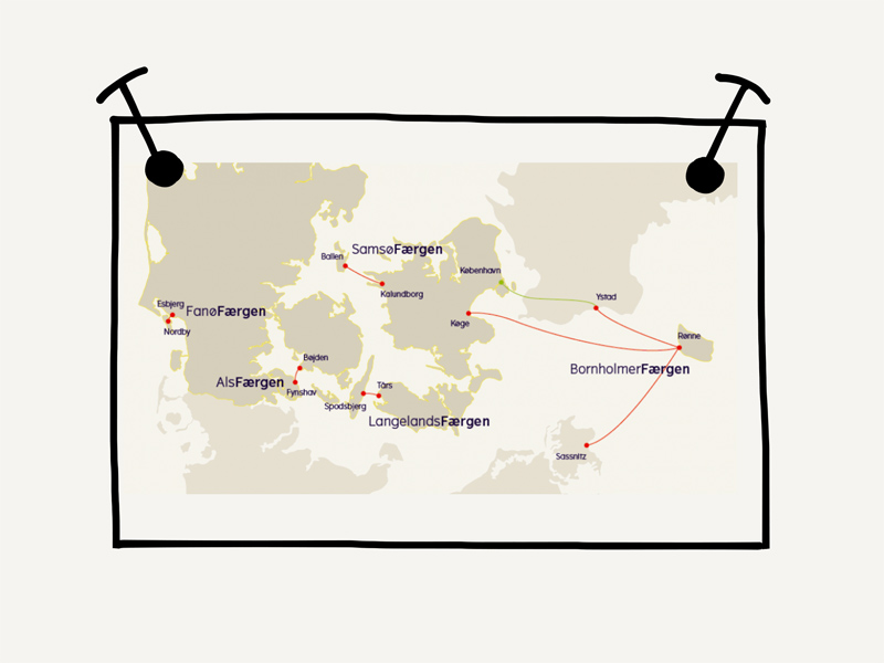 Dänemark wo das Glück wohnt Danferry