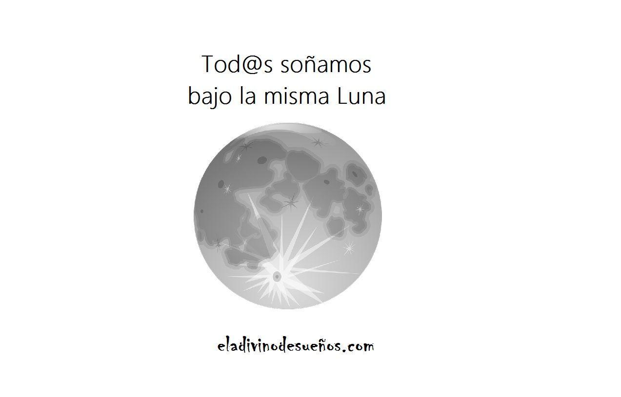 Tod s so amos bajo la misma luna el adivino de sue os for Mural la misma luna