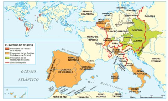 Europa de Felipe II