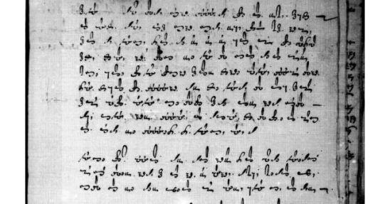 ejemplo de mensaje cifrado siglo XVI