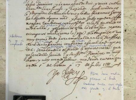 Análisis grafológico de Felipe II