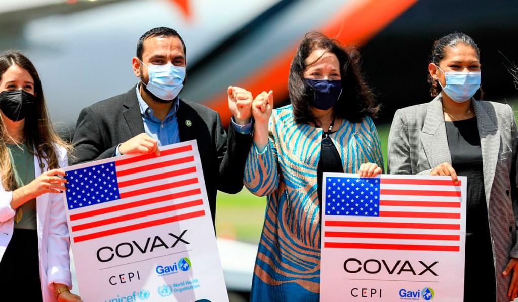 Estados Unidos dona 1.5 millones de vacunas Moderna a El Salvador