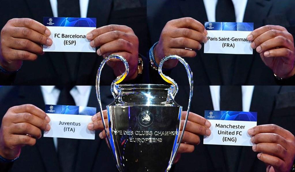 Sigue en directo el sorteo de la fase de grupos de la Champions League