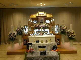 大和斎場第4式場利用・仏式採算利用・家族葬儀・お葬式の写真