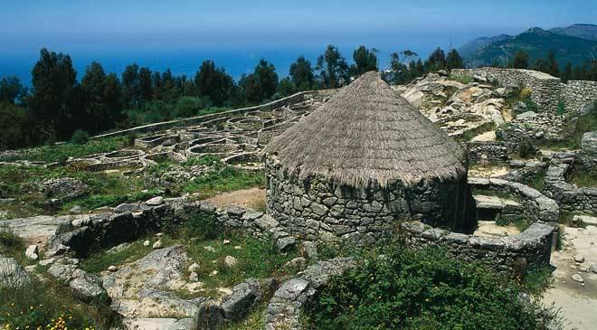 Castro del Monte de Santa Tecla. A Guarda, Pontevedra © Turespaña