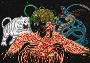 四獣,四神