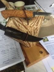 Daniel Storengen vant FFN-kniven lagd av Finn R. Lie fra Dalen i Telemark