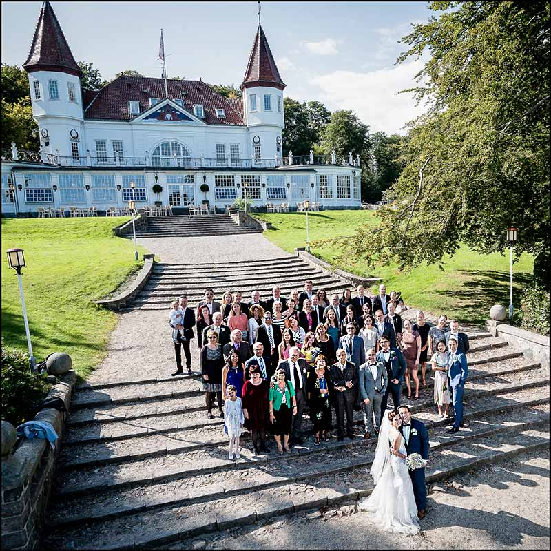 bryllupsfoto varna palæet i Århus