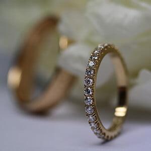 förlovningsringar i guld