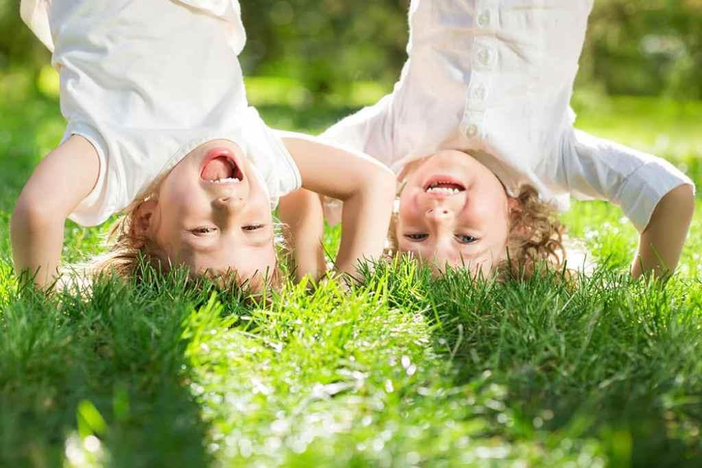 Toben im Freien, Großtagespflege Glückskinder