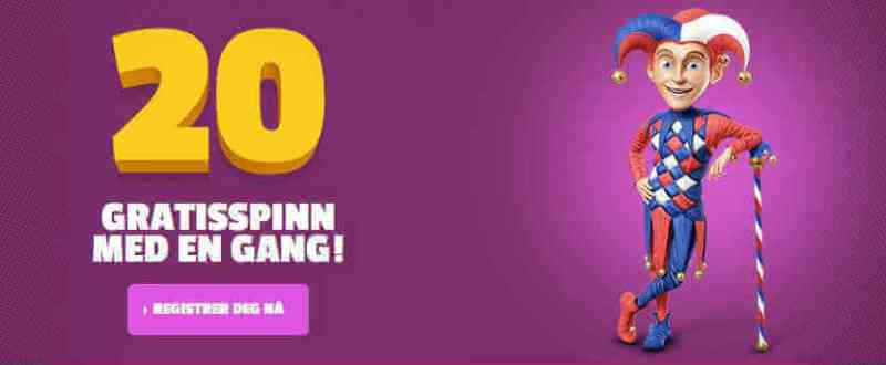 olaspill casino gratis spinn
