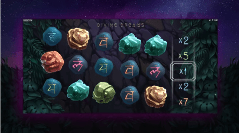 Divine Dreams – ny spilleautomat 2019
