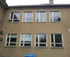 Fenster alt Hof