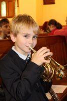 Emil mit seiner Trompete