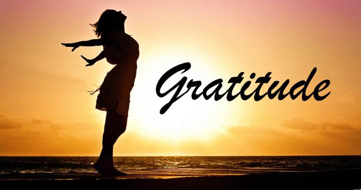 Gratitude in Motion
