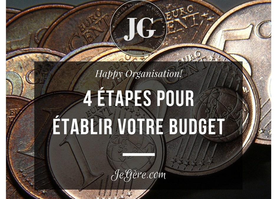 Etablir un budget
