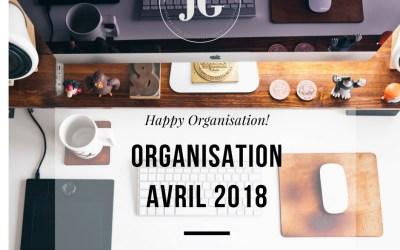 Organisation Avril 2018