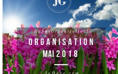 Organisation Mai 2018