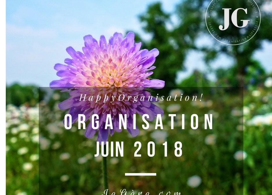 Organisation Juin 2018
