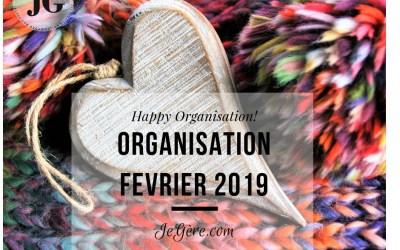 Organisation Février 2019