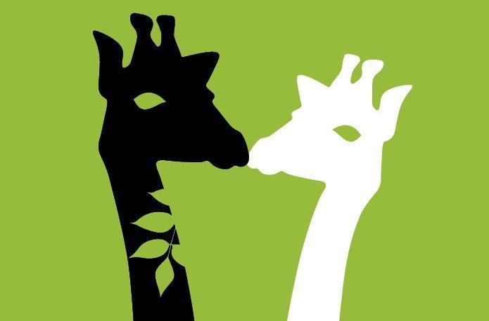 Der Giraffenkuss der ökoligenta