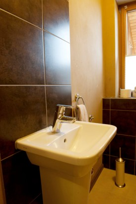 Lehmputz Gäste WC