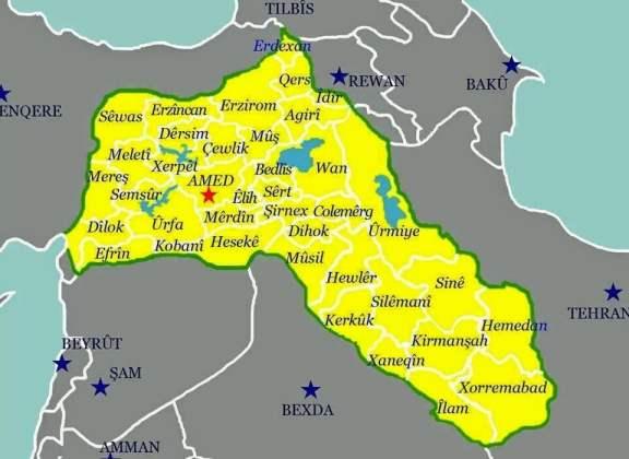 Villes kurdes