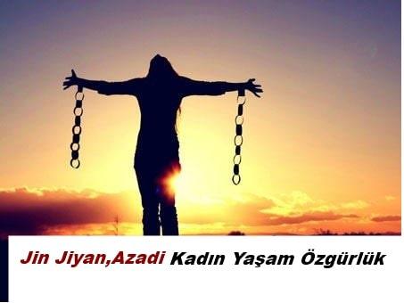 kadın yaşam özgürlük