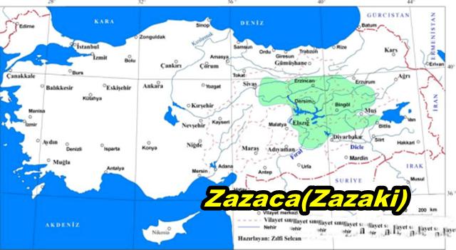 zazaki map