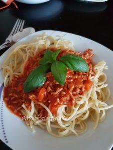 Spaghetti Bolognese à la Mias kleine Schätze ;)