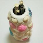 小学校低学年の女の子におすすめの簡単工作!紙粘土で作る貝殻模様のペン立て