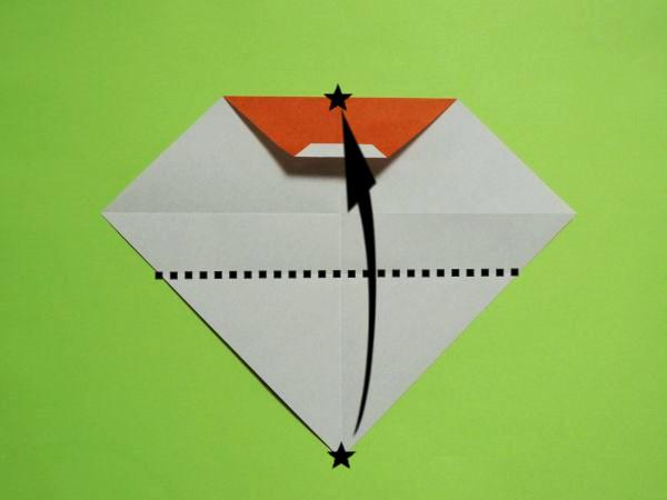 クリスマス飾り!折り紙で作る簡単サンタクロースの折り方・作り方