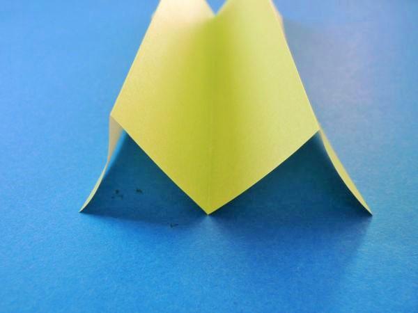 折り紙でクリスマスツリーの切り絵の作り方|図面・型紙・図案無料