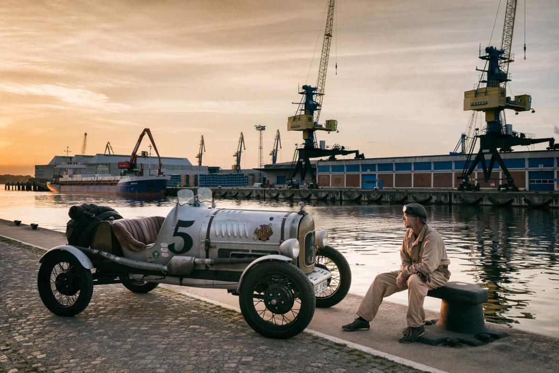 Kurt und sein Ford Model A Speedster