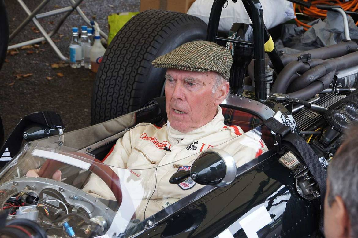Richard Attwood - Goodwood Revival 2017