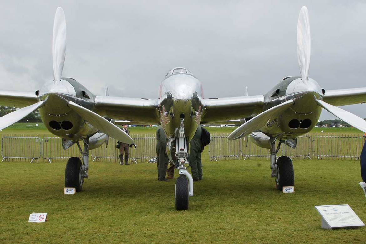 Goodwood Revival 2017 - Flugzeuge