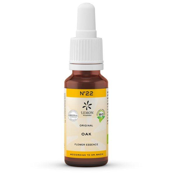 Lemon Pharma Original Bachblüten Tropfen Nr 22 Oak Eiche Standfestigkeit