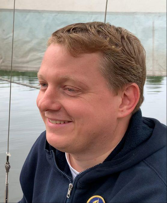 Ansprechpartner André Leipold, Kassierer im Vorstand der Ostseestürmer e.V.