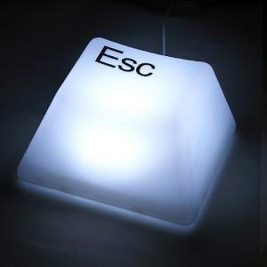 インテリアライト キーボード エスケープ ESC