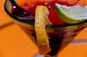 赤ワインで自家製サングリア おうちカフェでホームパーティーしよ♪006