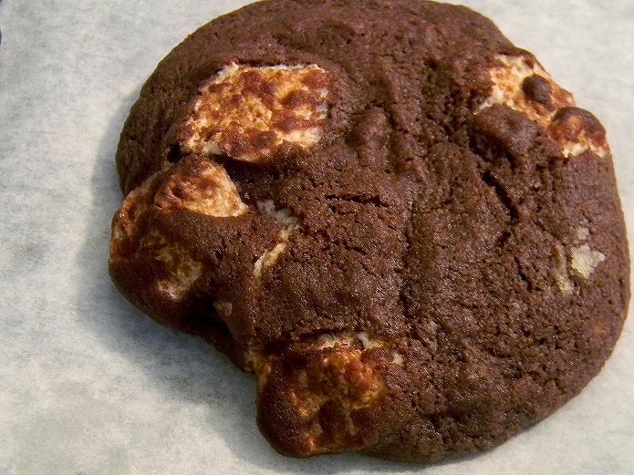 マシュマロ入りクッキーの作り方 おうちカフェレシピ