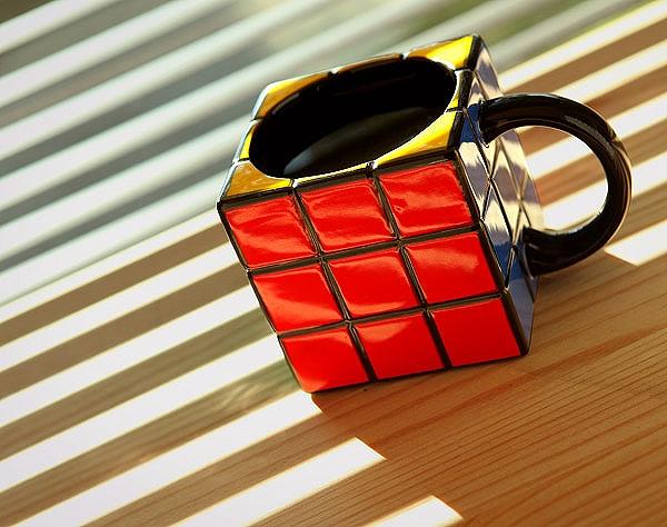 ルービックキューブ!?な可愛いマグカップ