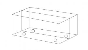 OSBで収納・本棚付きコーヒーテーブルをDIY ラフデザイン