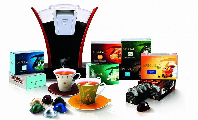 おいしい紅茶・お茶を新鮮な真空パックカプセルでいれるティーマシン ネスレ SPECIAL.T(スペシャル.T)