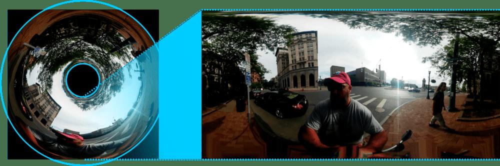 Sphere pro lens - capture video