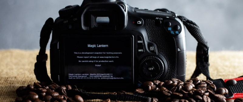 Magic Lantern   modding per Canon