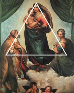 triangolo nella composizione fotografica