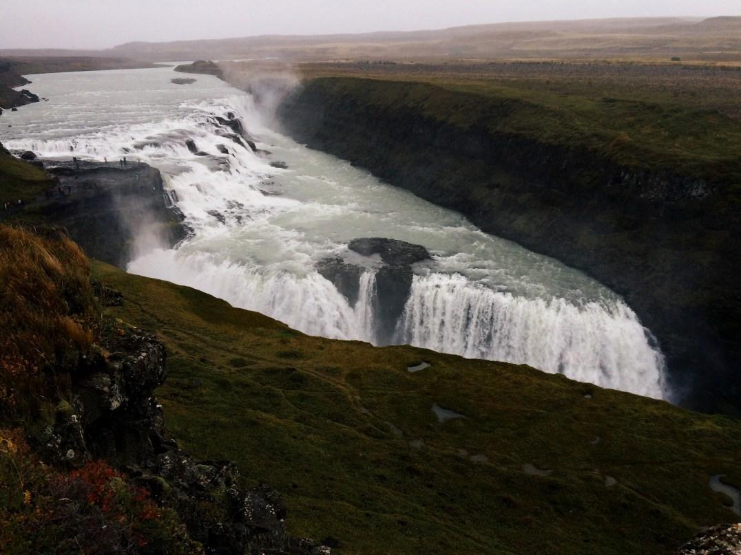 Foto Gullfoss Islanda di Elena Fornai